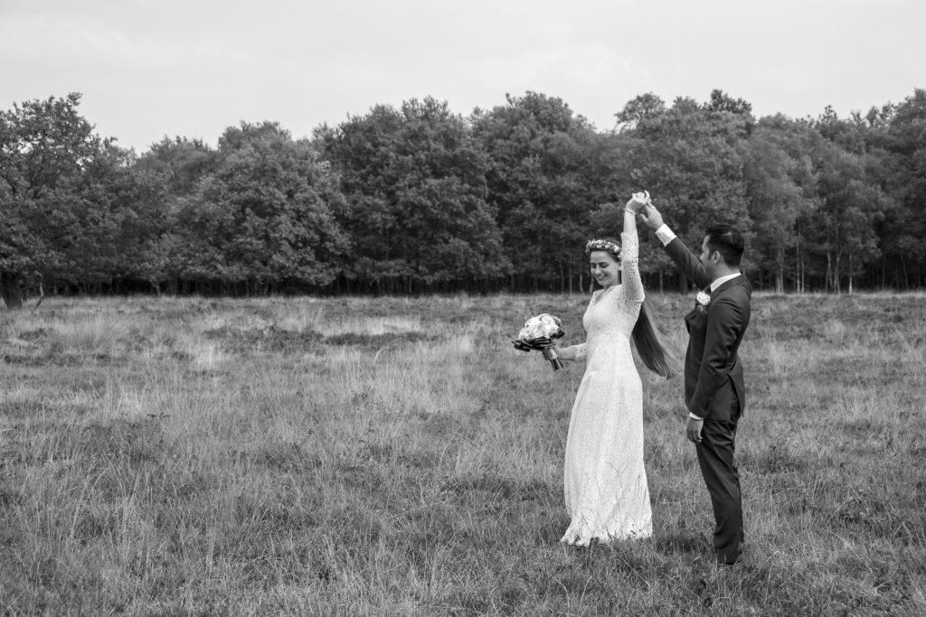 Bruidsfotografie van de bruiloft van Ilse & Jibon