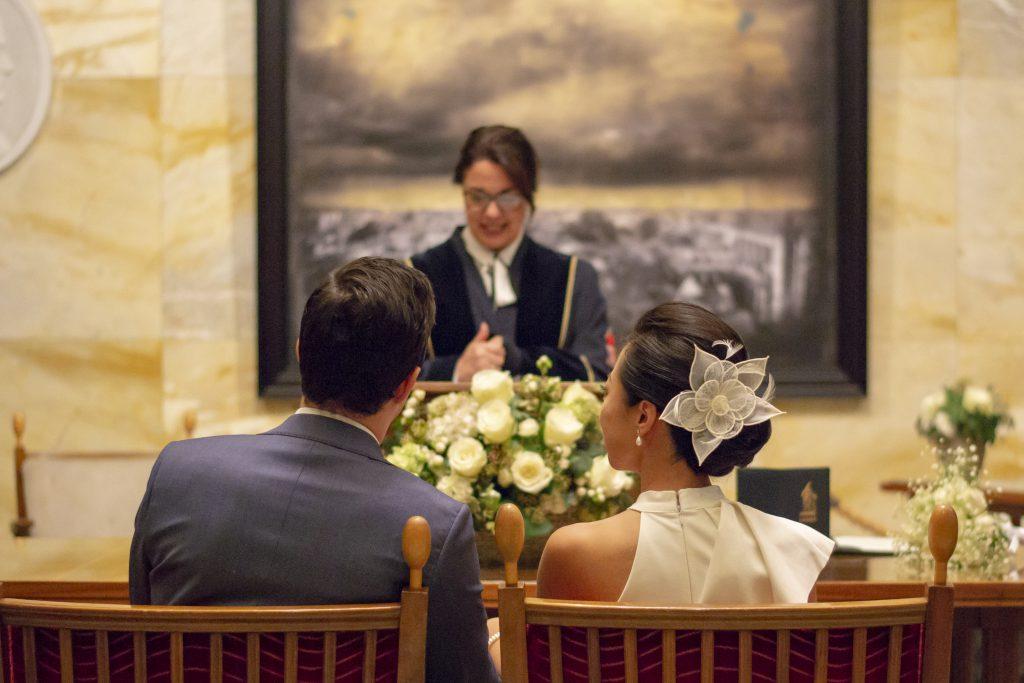Bruidsfotografie van de bruiloft van Xin & Matthijs