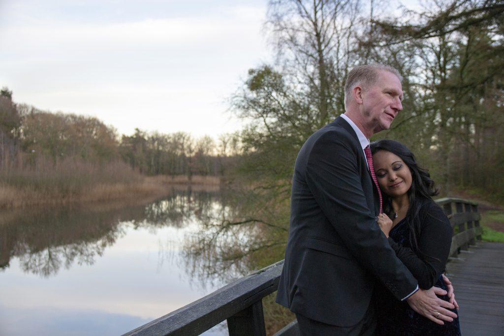 Loveshoot na de bruiloft van Laila & Gert